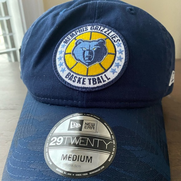good selling detailing new authentic New Era Accessories | Sunday Nwt Memphis Grizzlies Basketball Hat ...